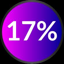17 perc Icon