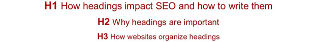How Headings Impact SEO and How to Write Them
